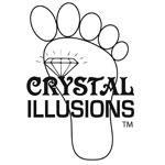 Crystal Illusions Toe Rings