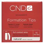 CND Formation Tips Natural 50ct Refill