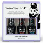 OPI Breakfast At Tiffany's GelColor Base Coat Trio
