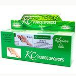 "KC 5"" 2-in-1 Medium/Coarse Pumice Sponge 12ct"