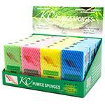 "KC 4"" Medium Pumice Sponge 24ct"