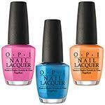 OPI Fiji Collection Nail Lacquers .5oz