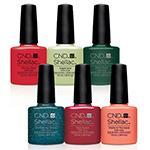 CND Rhythm & Heat Shellac Selection .25oz