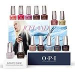 OPI Iceland Collection Infinite Shine Display 16ct