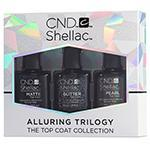 CND Shellac Alluring Top Coat Trilogy