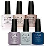 CND Glacial Illusion Shellac Selection .25oz