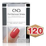 CND Foil Remover Wraps 120ct Case