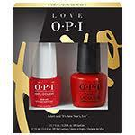 $10.00 Off LOVE OPI, XOXO GelColor Lacquers Duo