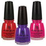 50% Off China Glaze Lacquers Select Shades .5oz