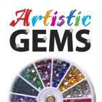50% Off Artistic Gem Wheels 1200ct Selection