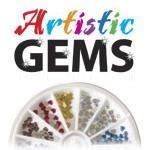 50% Off Artistic Gem Wheels 240ct Selection