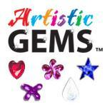 Artistic Gems Fun Shapes 100ct