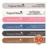 Tropical Shine Straight Files 50pk