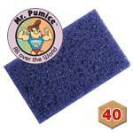 Mr. Pumice Mini Purple Pumi Bars 40ct
