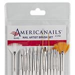 EZ ART Master Nail Artist Brush Set 15pc
