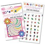 Assorted Nail Art Stickers 10pk